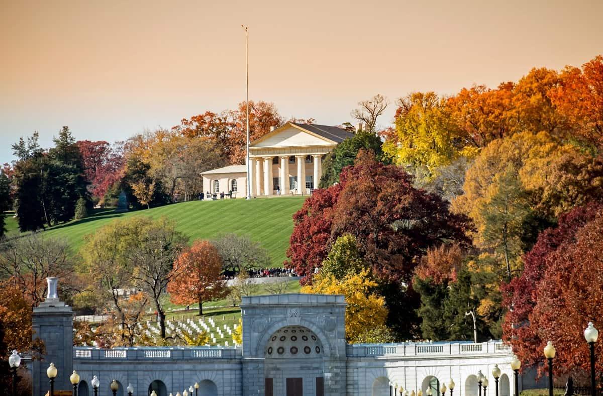 Arlington House & Arlington National Cemetery