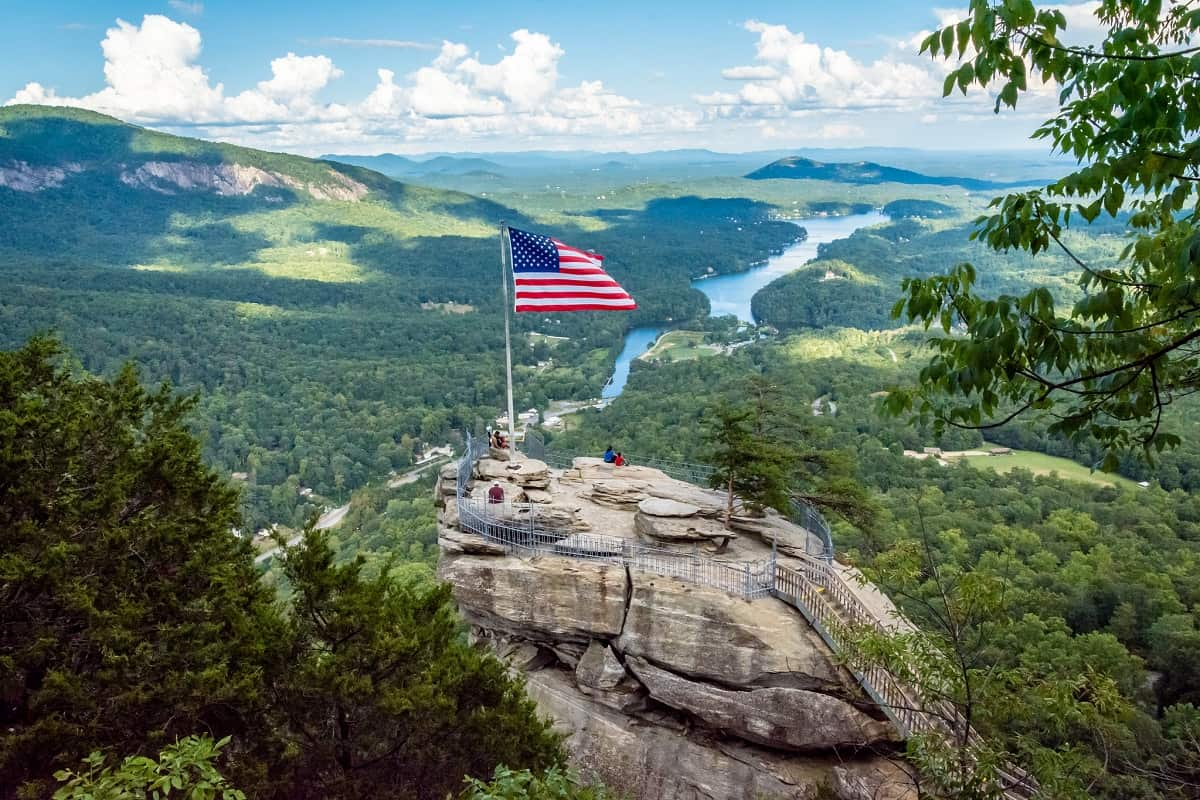 Chimney Rock State Park, Asheville, North Carolina