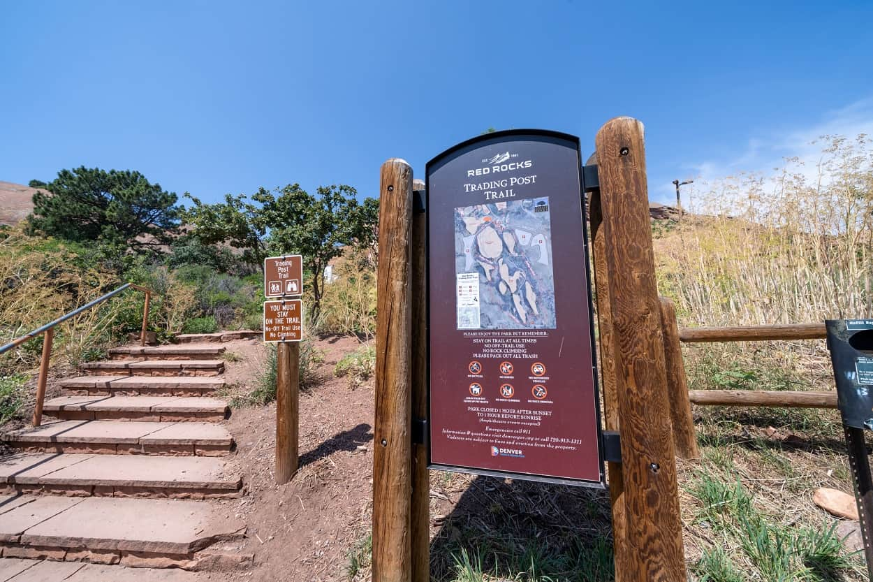 Red Rocks Trading Post Trail
