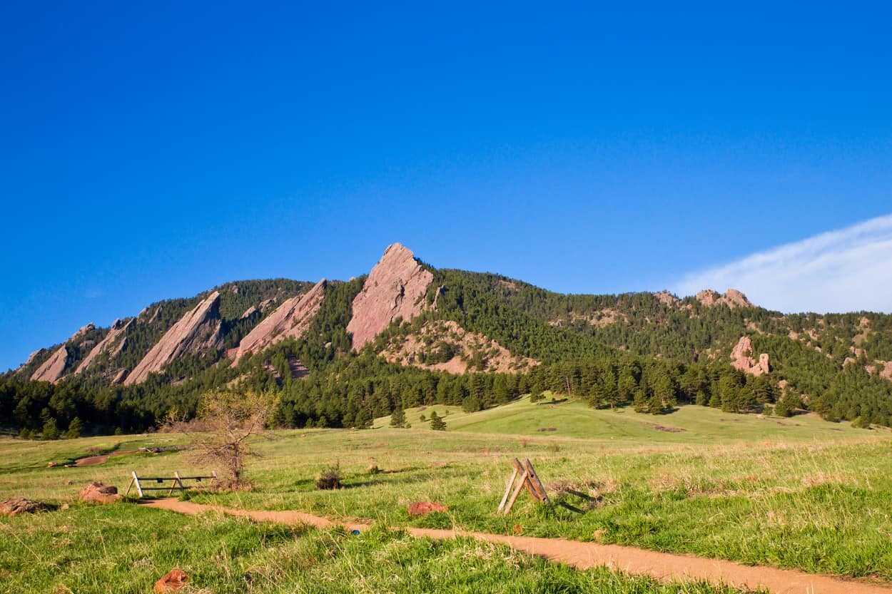 First and Second Flatirons Loop