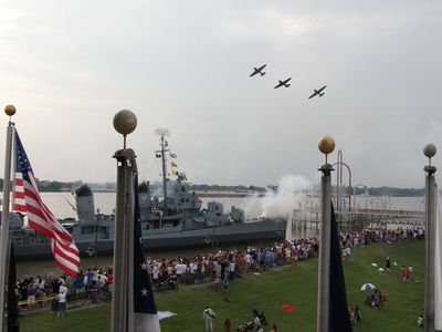 USS Kidd and Veterans Memorial, Baton Rouge