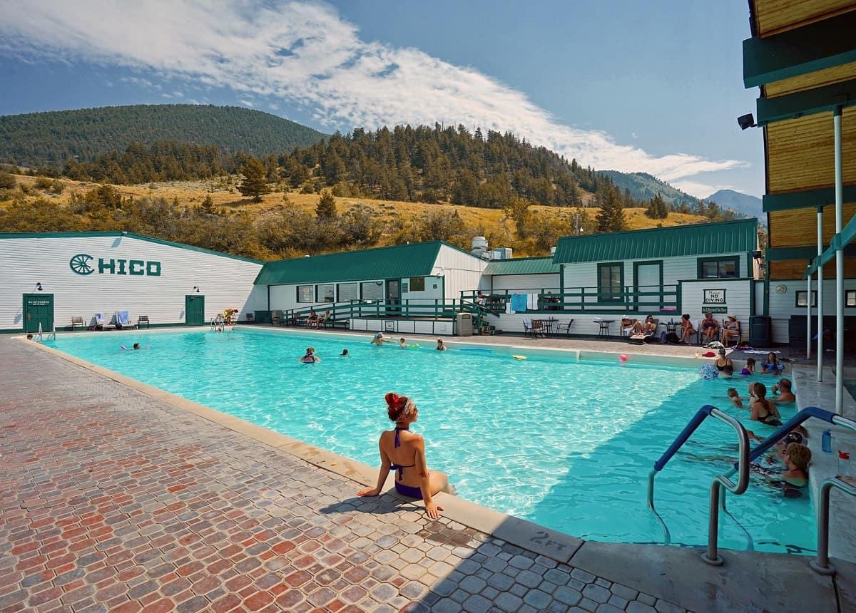 Chico Hot Springs Resort & Day Spa