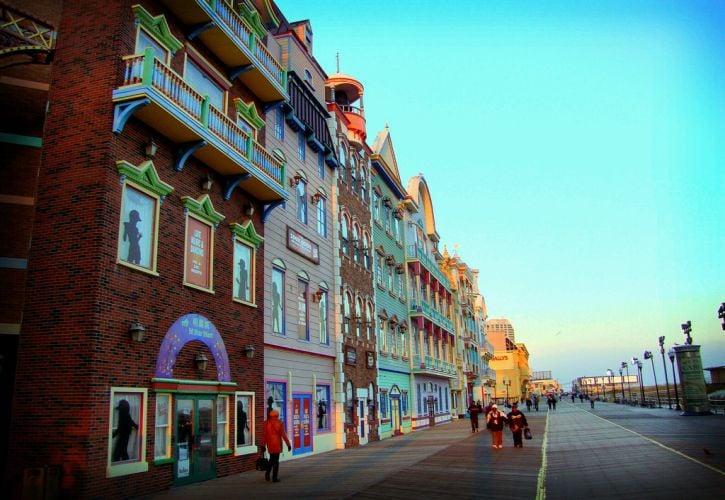 Atlantic City and Boardwalk