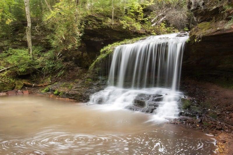 10 Most Beautiful Waterfalls in Wisconsin