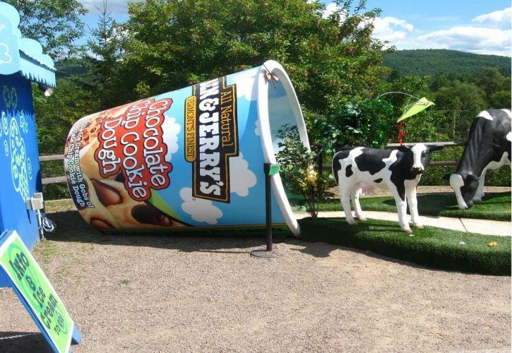 Ben & Jerry's Ice Cream Factory Tour