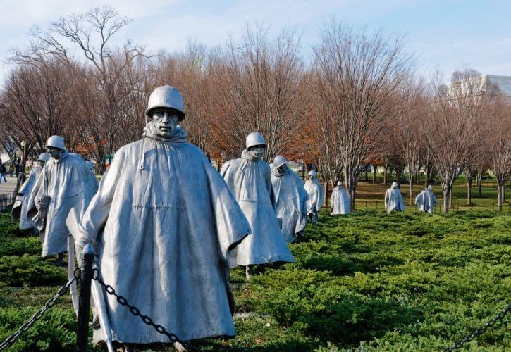 Vietnam Veterans and Korean War Veterans Memorials